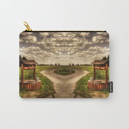 Countryside road and water well Carry-All Pouch