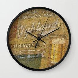 Highlander Wall Clock