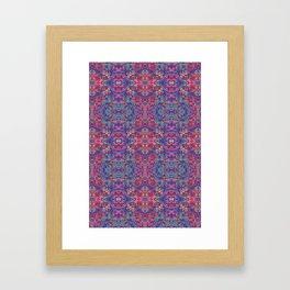 Digital Camo Framed Art Print