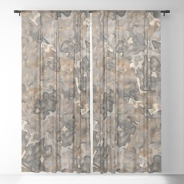 Stoned Sheer Curtain