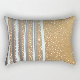 Snowdots Rectangular Pillow