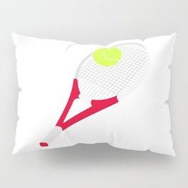 Tennis racket and tennis ball Pillow Sham