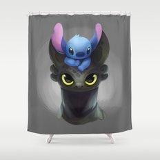 Best Pals Shower Curtain