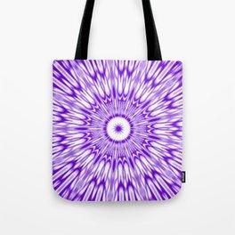 Purple Kaleidoscope  Tote Bag