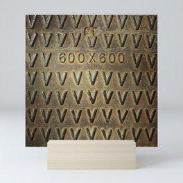 Armadura 600 x 600 Mini Art Print