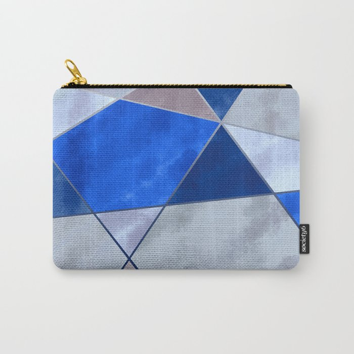 Concrete and Glass Carry-All Pouch