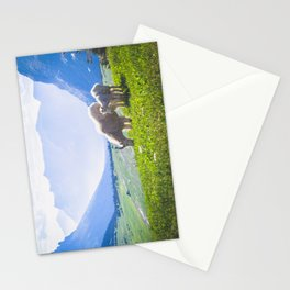 Goat Series, V Stationery Cards