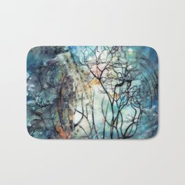 two worlds Bath Mat