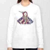 anna Long Sleeve T-shirts featuring AnnA by Andon Georgiev