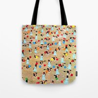 dance Tote Bags featuring DANCE by Ben Giles
