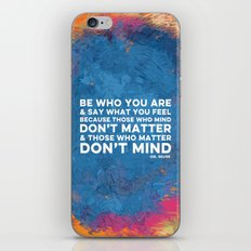 Be Unapologetically You iPhone & iPod Skin