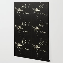 Black Marble and Blush Yellow #1 #decor #art #society6 Wallpaper