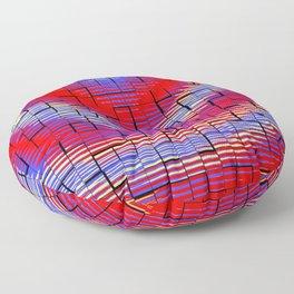 Ondulations colorées .... Floor Pillow