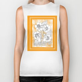 Kids with Hearts of Gold A Zentangle Illustration for Children Biker Tank