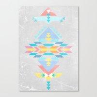 navajo Canvas Prints featuring Navajo by Marta Olga Klara