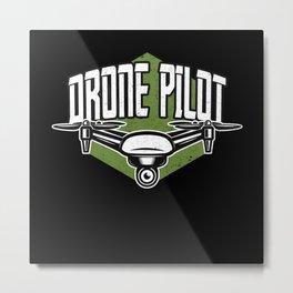 Drone Pilot Model Builder Drones Metal Print