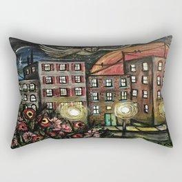 Night Watchman Rectangular Pillow