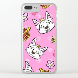 Sweetie pattern Clear iPhone Case