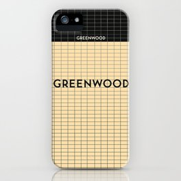 GREENWOOD | Subway Station iPhone Case