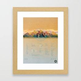 MAYA Framed Art Print