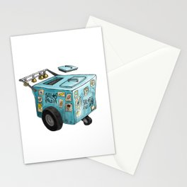 Paletero Ice Cream Cart Stationery Cards