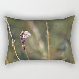 Brown Argus butterfly Rectangular Pillow