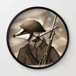 Sergeant Humphreys Wall Clock