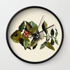 Botanical Fish Wall Clock