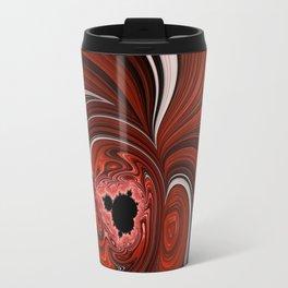 Heart of the Mandelbrot - Fractal Art Travel Mug