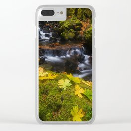 Dividing the Forest Clear iPhone Case