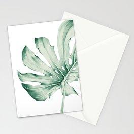 Monstera Leaf 1 Stationery Cards