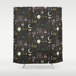 Haunted Attic Shower Curtain