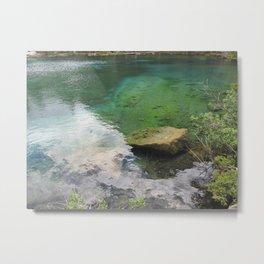 Grassi Lakes Metal Print