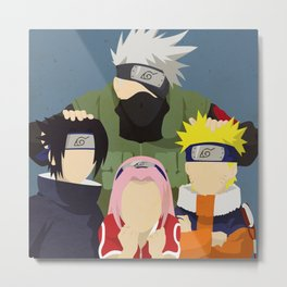 Team 7 Minimalist  Metal Print