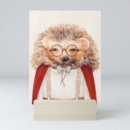 Harry Hedgehog Mini Art Print