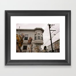 Castro Framed Art Print