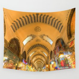 The Spice Bazaar Istanbul Wall Tapestry