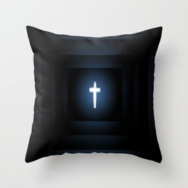 Love Peace n Sacrifice Throw Pillow