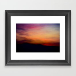 Afterglow II Framed Art Print