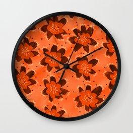 November Hill Rose Wall Clock