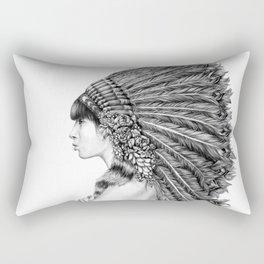 Ginger Flower Rectangular Pillow