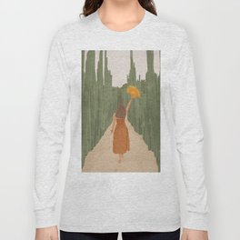 A Way Through the Cactus Field Long Sleeve T-shirt