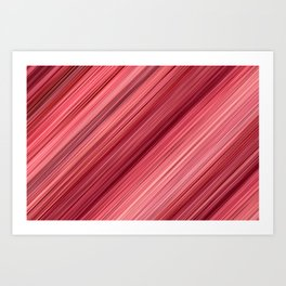 Ambient 33 in Red Art Print