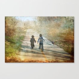 The Road of Life Canvas Print