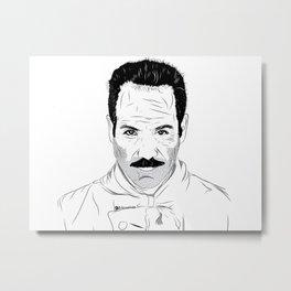 Seinfeld soup Metal Print