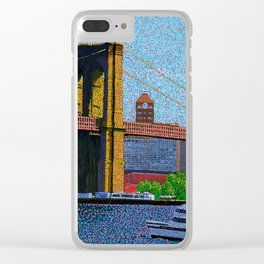 Brooklyn Bridge New York. Clear iPhone Case