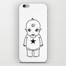 kewpie lineart iPhone & iPod Skin