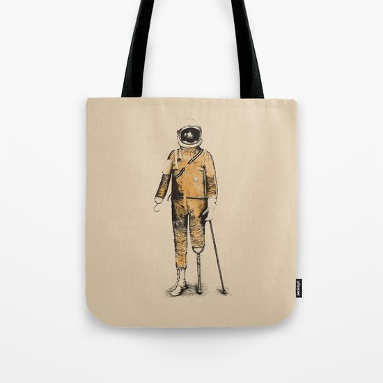 Astropirate (Watercolors) Tote Bag