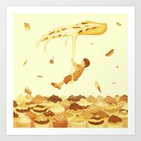 food Art Prints featuring Food by Alendro