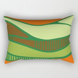Bird's view- vue d'oiseau Rectangular Pillow